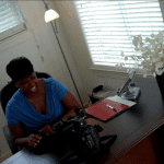 Dr. S.O.S. cutting up during the office scene